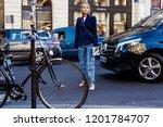 paris  france   october 1  2018 ... | Shutterstock . vector #1201784707