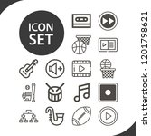contains such icons as playoff  ... | Shutterstock .eps vector #1201798621