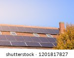 Solar Panels At The Top Of The...