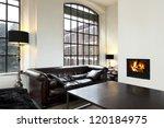 beautiful house  interior  view ... | Shutterstock . vector #120184975