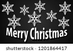 holiday background with white... | Shutterstock .eps vector #1201864417