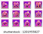 vector purple square collection ...