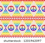 vintage abstract seamless... | Shutterstock . vector #1201962097