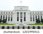 federal reserve building  ... | Shutterstock . vector #1201990411