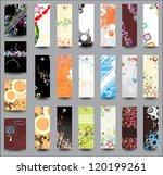 set of flyers and banners.... | Shutterstock . vector #120199261