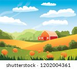vector illustration depicting... | Shutterstock .eps vector #1202004361