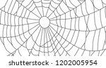 cobweb  isolated on white... | Shutterstock .eps vector #1202005954