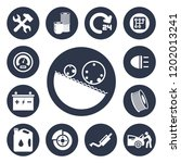 auto service icons set | Shutterstock .eps vector #1202013241