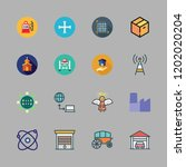 building icon set. vector set... | Shutterstock .eps vector #1202020204