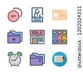 identity icon set. vector set... | Shutterstock .eps vector #1202024311