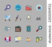 vector set about compress ... | Shutterstock .eps vector #1202050921