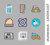 material icon set. vector set...   Shutterstock .eps vector #1202051107