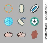 icon set. vector set about... | Shutterstock .eps vector #1202054014