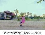 khonkean  thailand   august 18...   Shutterstock . vector #1202067004