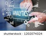 business concept. businessman...   Shutterstock . vector #1202074324
