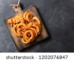 Curly Fries Fast Food Snack On...