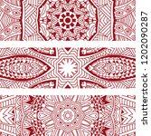 line art doodle style textured... | Shutterstock .eps vector #1202090287