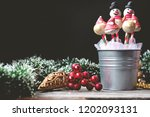 cake pops decorated for... | Shutterstock . vector #1202093131