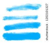 vector set of hand drawn brush... | Shutterstock .eps vector #1202101327
