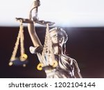 the statue of justice   lady... | Shutterstock . vector #1202104144