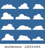 clouds | Shutterstock . vector #120211441