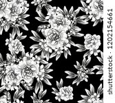 abstract elegance seamless... | Shutterstock . vector #1202154661