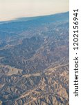 an aerial view of california... | Shutterstock . vector #1202156941
