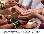 moment from a traditional... | Shutterstock . vector #1202172784