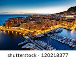 Aerial View On Fontvieille And...