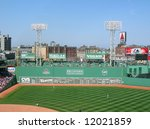 """A View Of The """"green Monster""""..."""