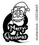 merry christmas | Shutterstock .eps vector #120218665