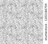 linear wave seamless ornament... | Shutterstock .eps vector #1202186704
