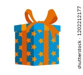 gift box present icon | Shutterstock .eps vector #1202212177