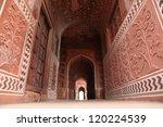 taj mahal door way | Shutterstock . vector #120224539
