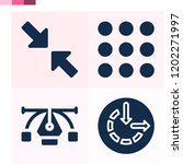contains such icons as... | Shutterstock .eps vector #1202271997