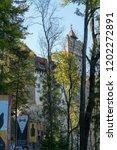 bran  transylvania romania  ... | Shutterstock . vector #1202272891