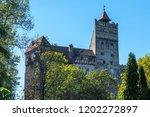 bran  transylvania romania  ... | Shutterstock . vector #1202272897