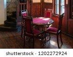 bran  transylvania romania  ... | Shutterstock . vector #1202272924