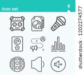 contains such icons as... | Shutterstock .eps vector #1202274577
