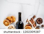 ingredients for traditional... | Shutterstock . vector #1202309287