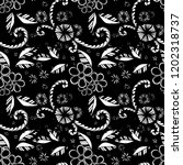 seamless pattern with small... | Shutterstock .eps vector #1202318737