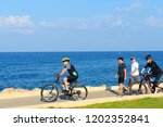 tel aviv  israel   october 13 ... | Shutterstock . vector #1202352841