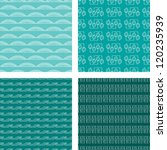 seamless doodle pattern set... | Shutterstock .eps vector #120235939