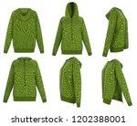 Beautiful Set Knitted Woolen Hoodie - Fine Art prints