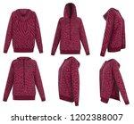 Beautiful Set Knitted Wool Hoodie - Fine Art prints