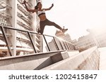 towards a healthier lifestyle.... | Shutterstock . vector #1202415847