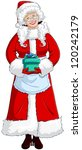 a vector illustration of mrs... | Shutterstock .eps vector #120242179