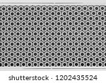 white perforated steel plate... | Shutterstock . vector #1202435524