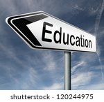 education learn and study to...   Shutterstock . vector #120244975