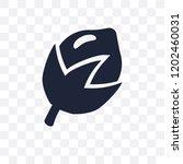 hazelnut transparent icon.... | Shutterstock .eps vector #1202460031